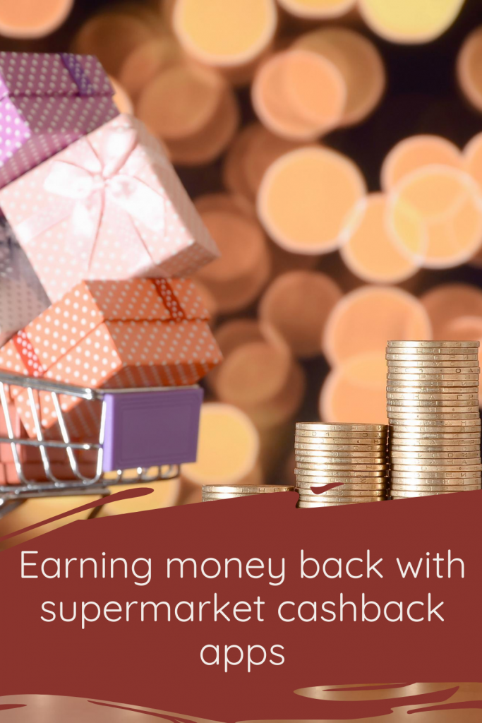 Earning money back with supermarket cashback apps