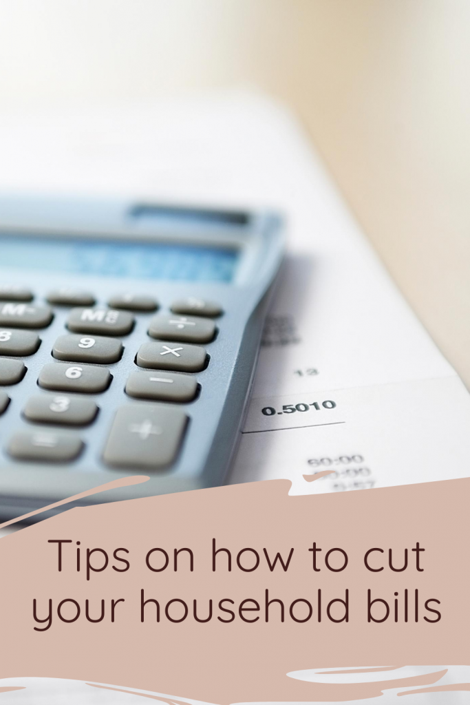 Tips on how to cut your household bills