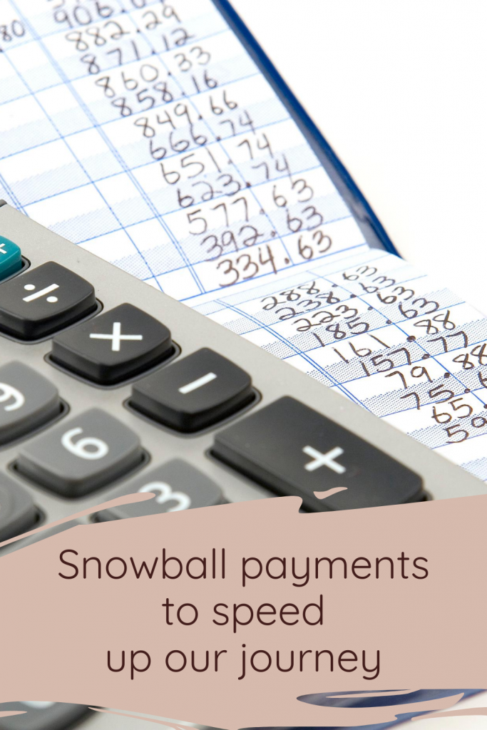 Snowball payments to speed up our journey