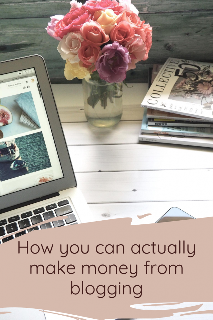 How you can actually make money from blogging