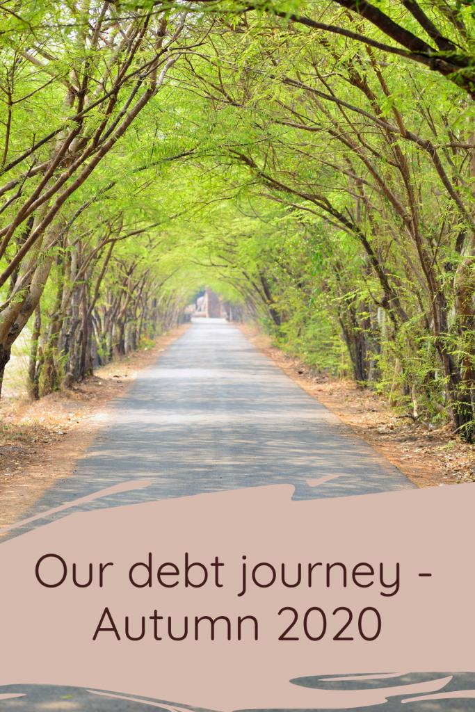 Our debt journey - Autumn 2020