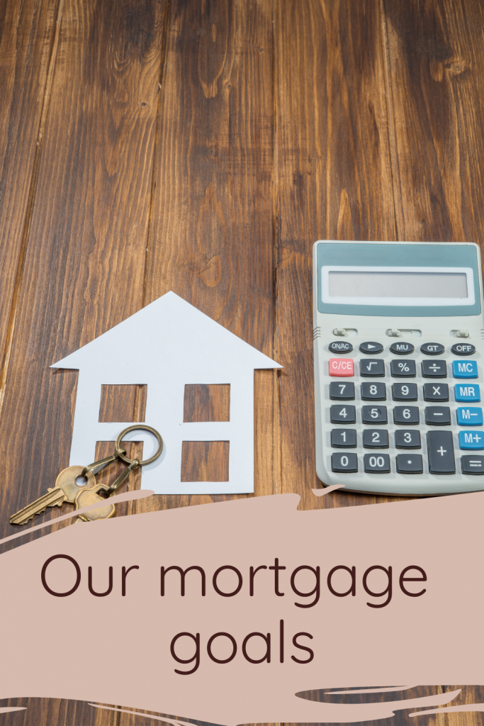Our mortgage goals