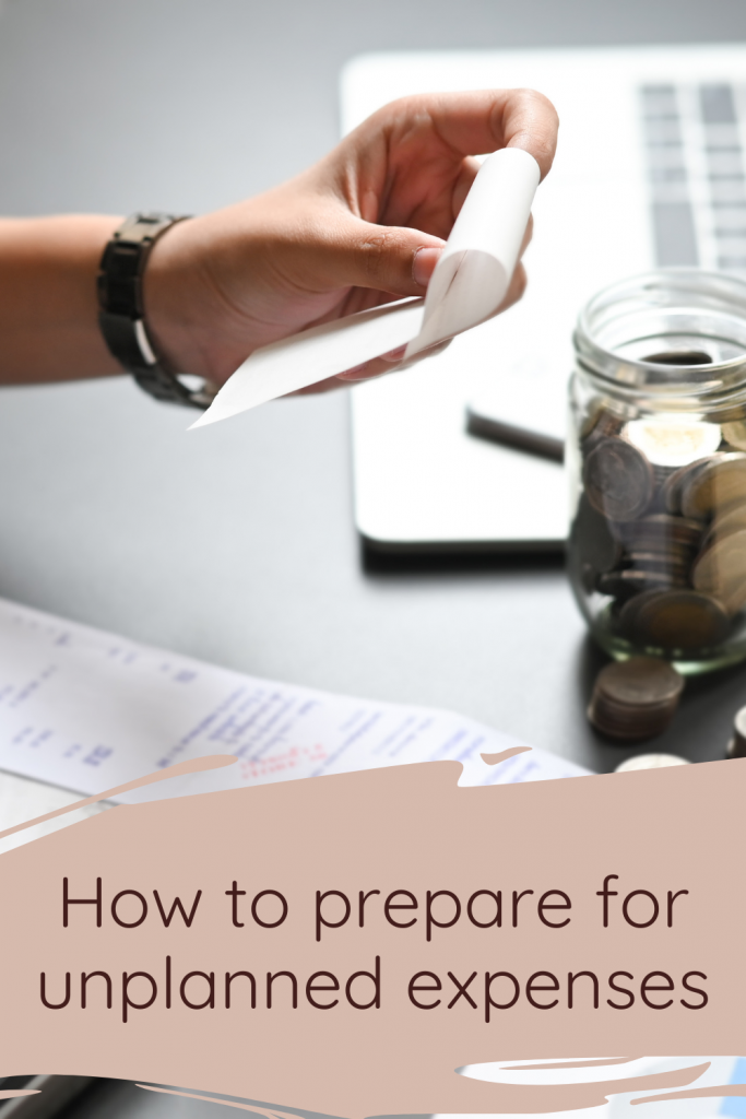 How to prepare for unplanned expenses