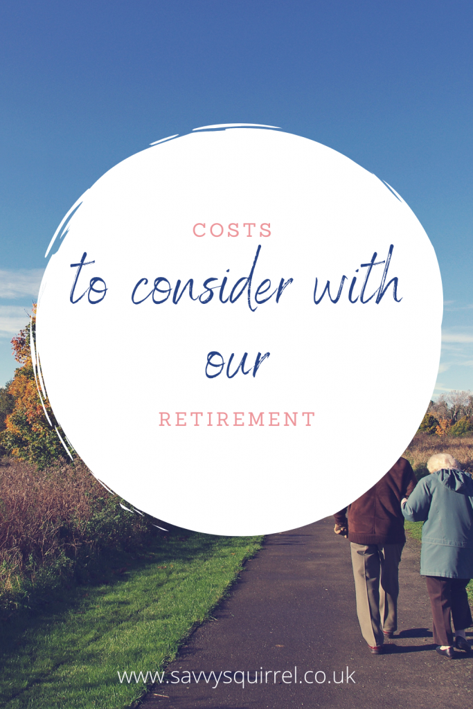 Costs to consider with our retirement