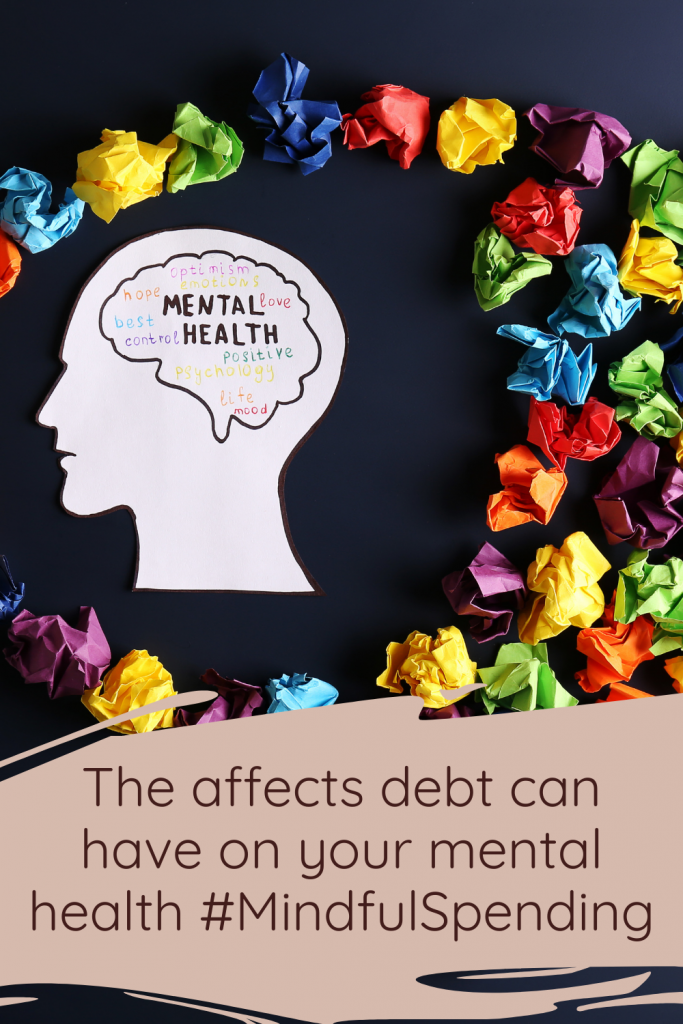 The affects debt can have on your mental health #MindfulSpending