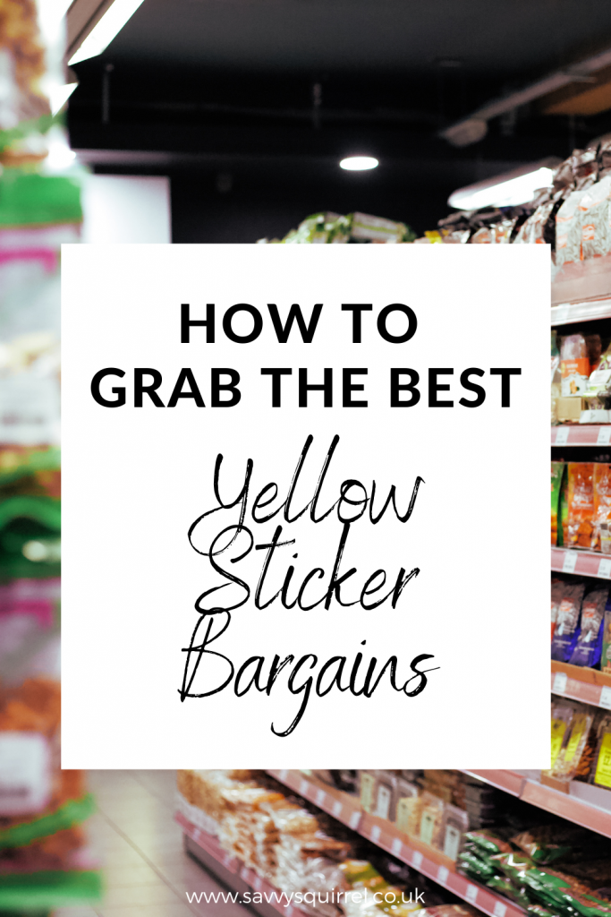 How To Grab The Best Yellow Sticker Bargains